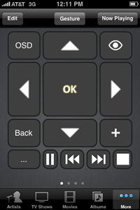 XBMC Remote - Buttons