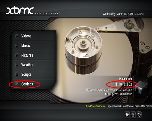 XBMC Config